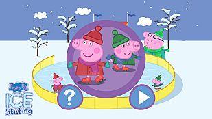 Juego Patinando con Peppa Pig