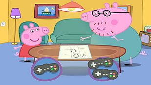 Juego Las tres en raya con Peppa Pig