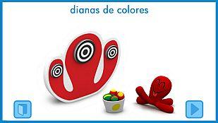 Juego Dianas de colores