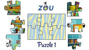 Juego El puzzle de Zou 1