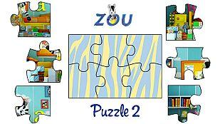 Juego El puzzle de Zou 2