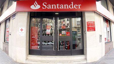 El banco santander anuncia una reducci n de su plantilla y for Oficina de correos santander