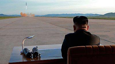Resultado de imagen para Corea del Norte lanza nuevo misil intercontinental: 'Es capaz de alcanzar todo el territorio de EE.UU.', amenaza