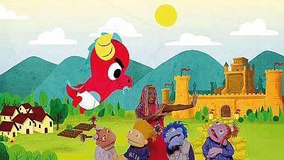 ¡Aprende cantando la historia de 'Sant Jordi y el dragón'