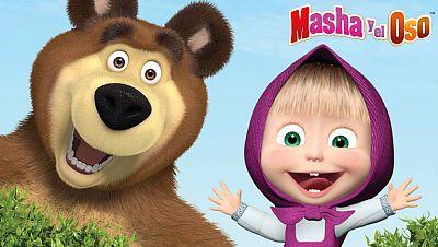 ¡Con Masha...llegó la revolución al bosque!