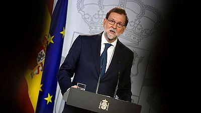Resultado de imagen para Gobierno de España recurre acuerdo sobre Cataluña