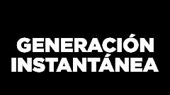 Logotipo de 'Generación instantánea'