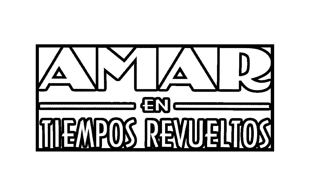 Logotipo del programa 'Amar en tiempos revueltos'