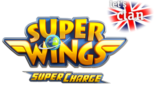 Programa Super Wings en inglés