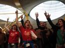 Ir a Fotogaleria Segunda jornada de huelga en Iberia