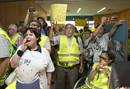 """Ir a Fotogaleria Los """"yayoflautas"""" protestan contra Bankia"""