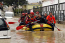 Ir a Fotogaleria El temporal de lluvia y nieve inunda las calles de Roma