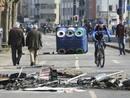 Ir a Fotogaleria Violentos incidentes en las protestas convocadas por la nueva sede del BCE en Fráncfort