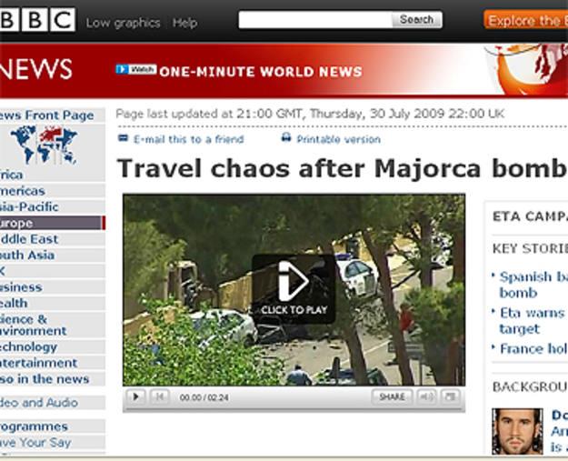 Ir a Fotogaleria El atentado de ETA en la prensa internacional