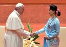 Ir a Fotogaleria El papa Francisco visita Birmania