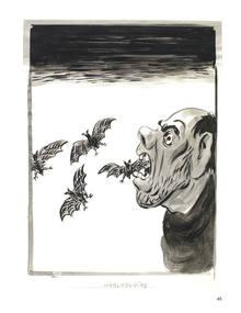 Ir a Fotogaleria Dibujos de la exposición 'No se puede mirar', de El Roto