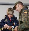 Ir a Fotogaleria La selección española, con las tropas en Bosnia