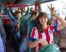 Ir a Fotogaleria Las aficiones de Madrid y Atlético en Lisboa en la final de la Champions