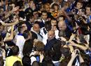 Ir a Fotogaleria Fiesta interista en el aeropuerto de Milán para recibir a los héroes del Camp Nou