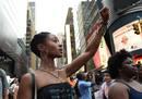 Ir a Fotogaleria Nuevas protestas en EE.UU. contra la violencia policial tras las muertes de dos negros