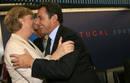 Ir a Fotogaleria Los besos de Merkel y Sarkozy