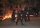 Ir a Fotogaleria Cuarta noche de protestas en Barcelona por el derribo de un centro social 'okupa' en Sants
