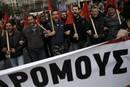 Ir a Fotogaleria Huelga general en Grecia contra la reforma de las pensiones