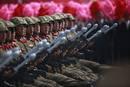 Ir a Fotogaleria Corea del Norte exhibe su poderío militar en el desfile del 105 aniversario de su fundador