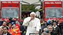 Ir a Fotogaleria Visita del Papa a la zona del terremoto