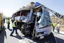Ir a Fotogaleria Accidente mortal de autobús en Tornadizos, en Ávila