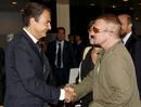 Ir a Fotogaleria Zapatero se entrevista con el líder de U2