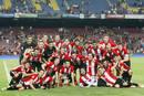 Ir a Fotogaleria El Athletic de Bilbao celebra su título de Supercopa ante el Barcelona