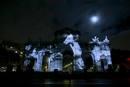 Ir a Fotogaleria 25 aniversario de la caída del Muro, videomapping en la Puerta de Alcalá