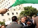 Ir a Fotogaleria Seguidores de Gadafi protestan contra Ban Ki-Moon en Egipto