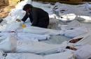 """Ir a Fotogaleria La oposición siria denuncia una """"masacre"""" con armas químicas en Damasco"""