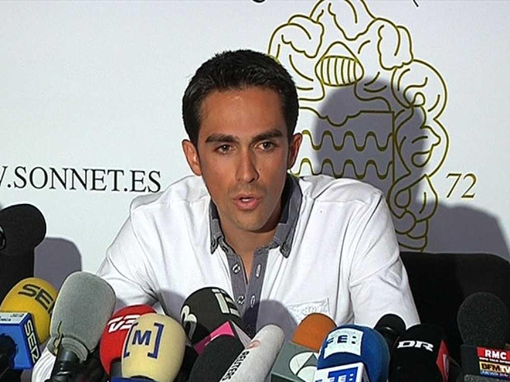"""El ciclista español Alberto Contador ha anunciado que va a hacer  """"todo lo que pueda"""" con sus abogados para que se haga justicia, por  lo que ha señalado que recurrirá """"adonde sea necesario"""" para defender  su inocencia y su honor, después de que el p"""
