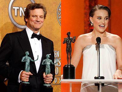 Colin Firth y Natalie Portman premiados por el Sindicato de Actores de EEUU