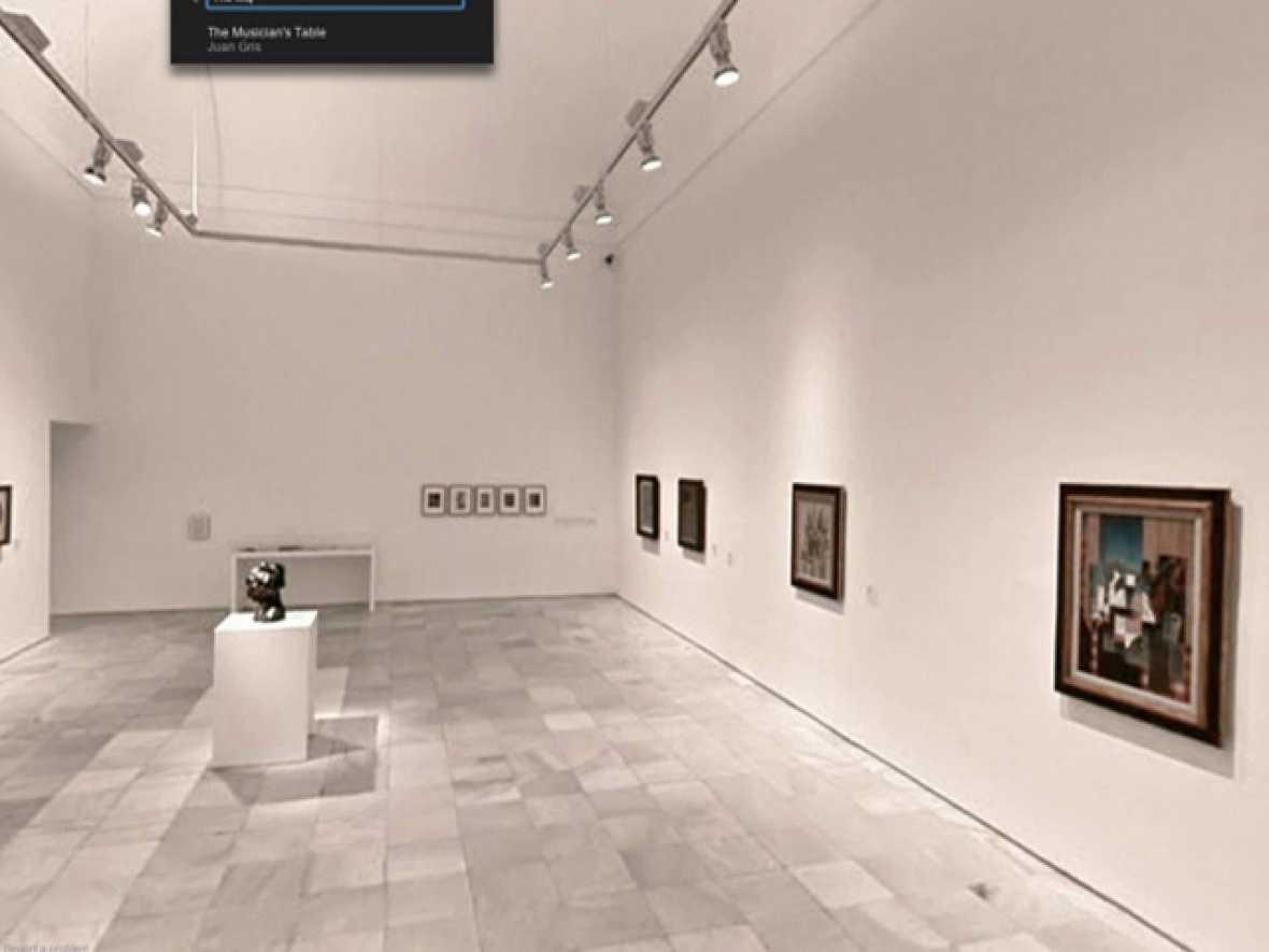 Visita virtual al museo Reina Sofía en 'Google Art Project'