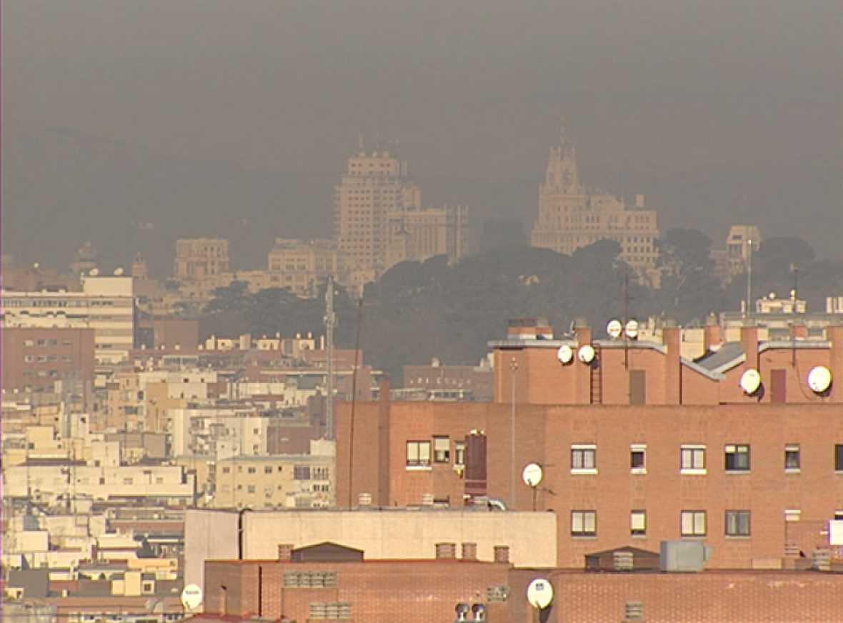 Preocupación en Madrid por los altos niveles de contaminación