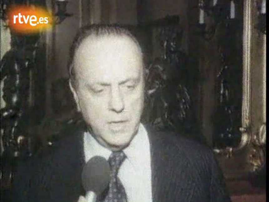 Manuel Fraga Iribarne califica de disparatado e inútil el golpe del 23-F