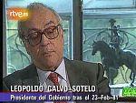 El expresidente Calvo Sotelo dice del 23-F que resultó brillante gracias a la intervención del rey