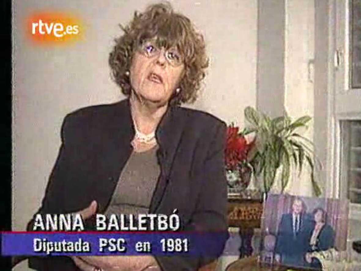 Anna Balletbó, sobre el 23-F