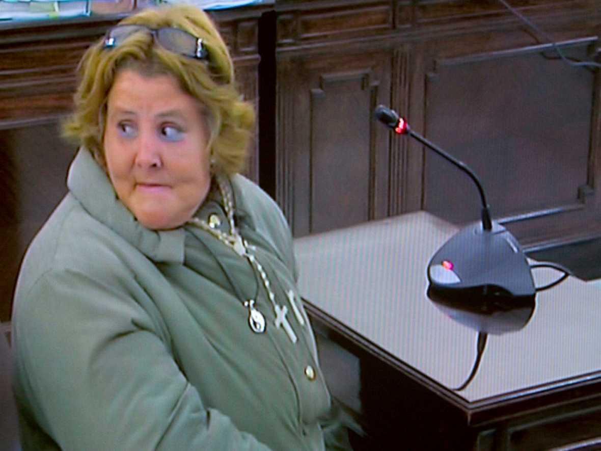 La mujer de Del Valle acusa a Rosa