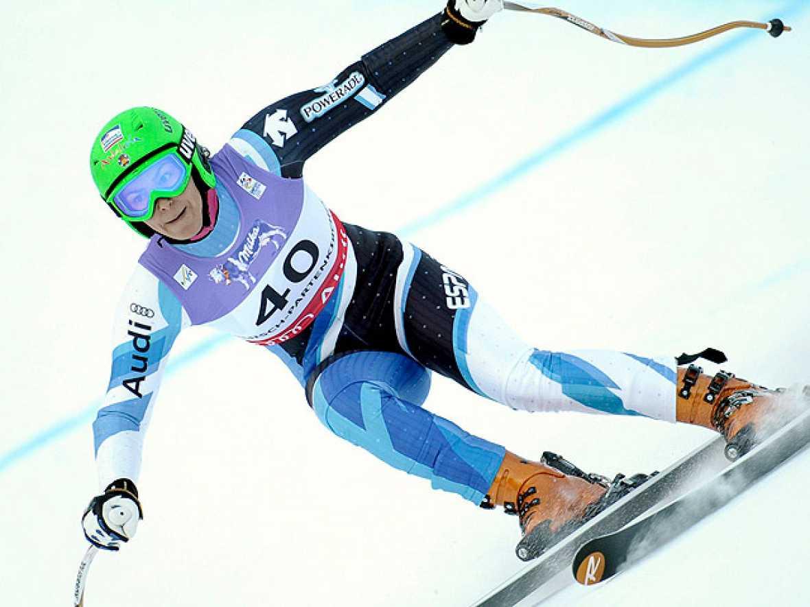La esquiadora española María José Rienda ha finalizado en la 31ª posición en el slalom gigante del Mundial de esquí alpino.