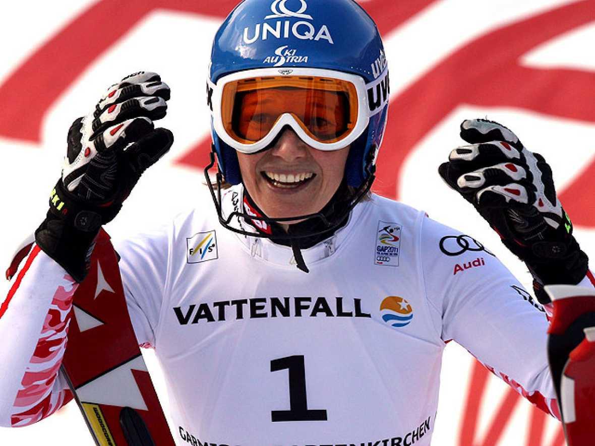 La austriaca Marlies Schild se ha proclamado campeona del mundo de eslalon y ha asegurado para su país el primer puesto en el medallero del Mundial de esquí alpino.