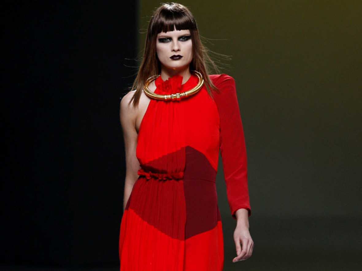 Ana Locking en Madrid Cibeles Fashion Week
