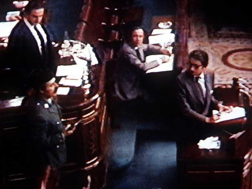 El 23-F en el Congreso de los Diputados