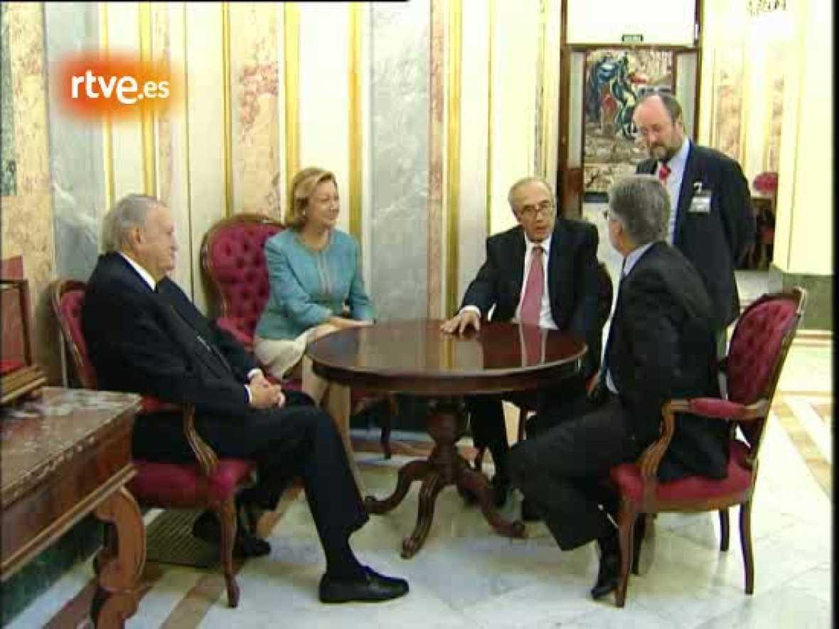 Los presidentes del Congreso se reúnen para TVE y cuentan sus recuerdos del 23-F