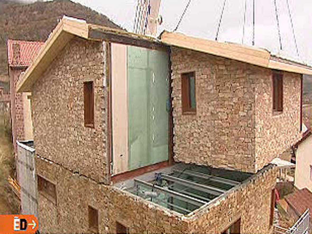 Espa a directo casa de piedra modular for Casas prefabricadas piedra