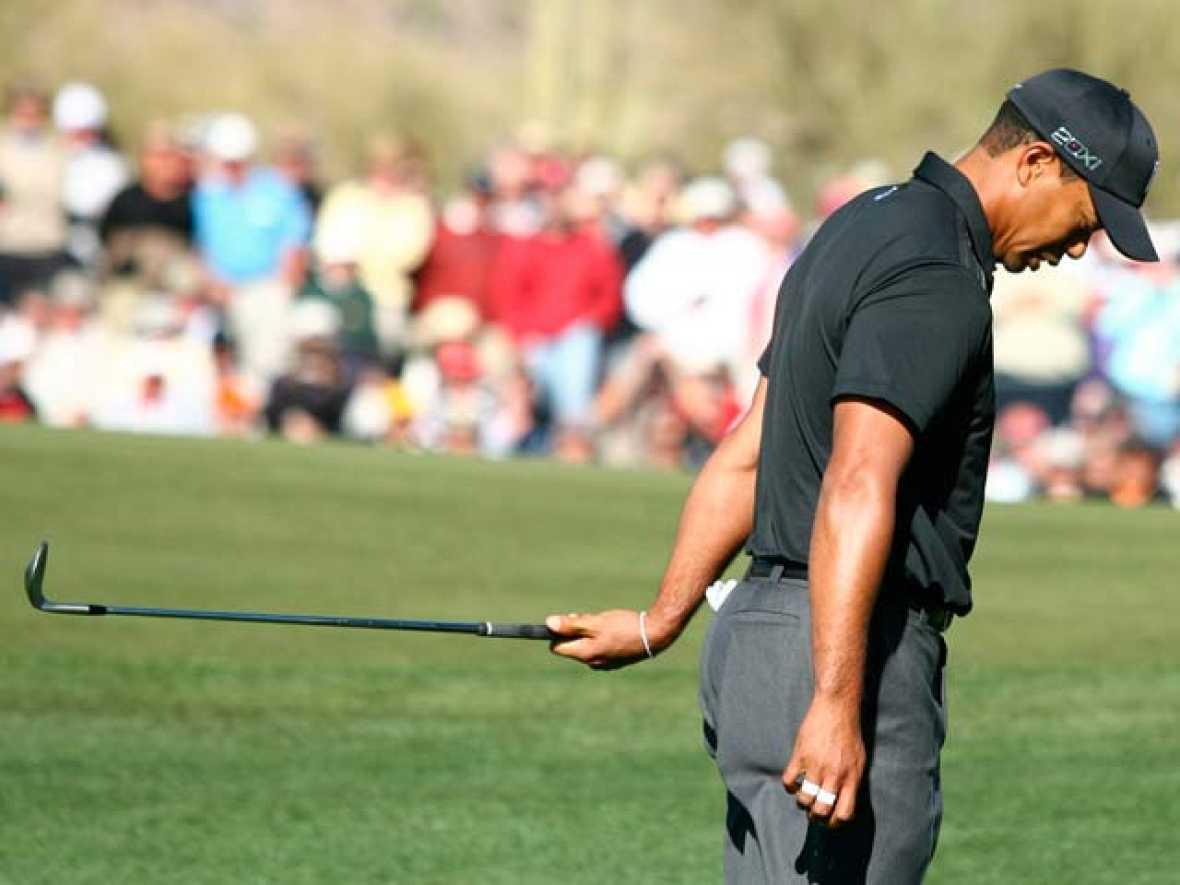 Tiger Woods ha quedado eliminado del Mundial de Match Play, que se está celebrando en la localidad estadounidense de Marana.